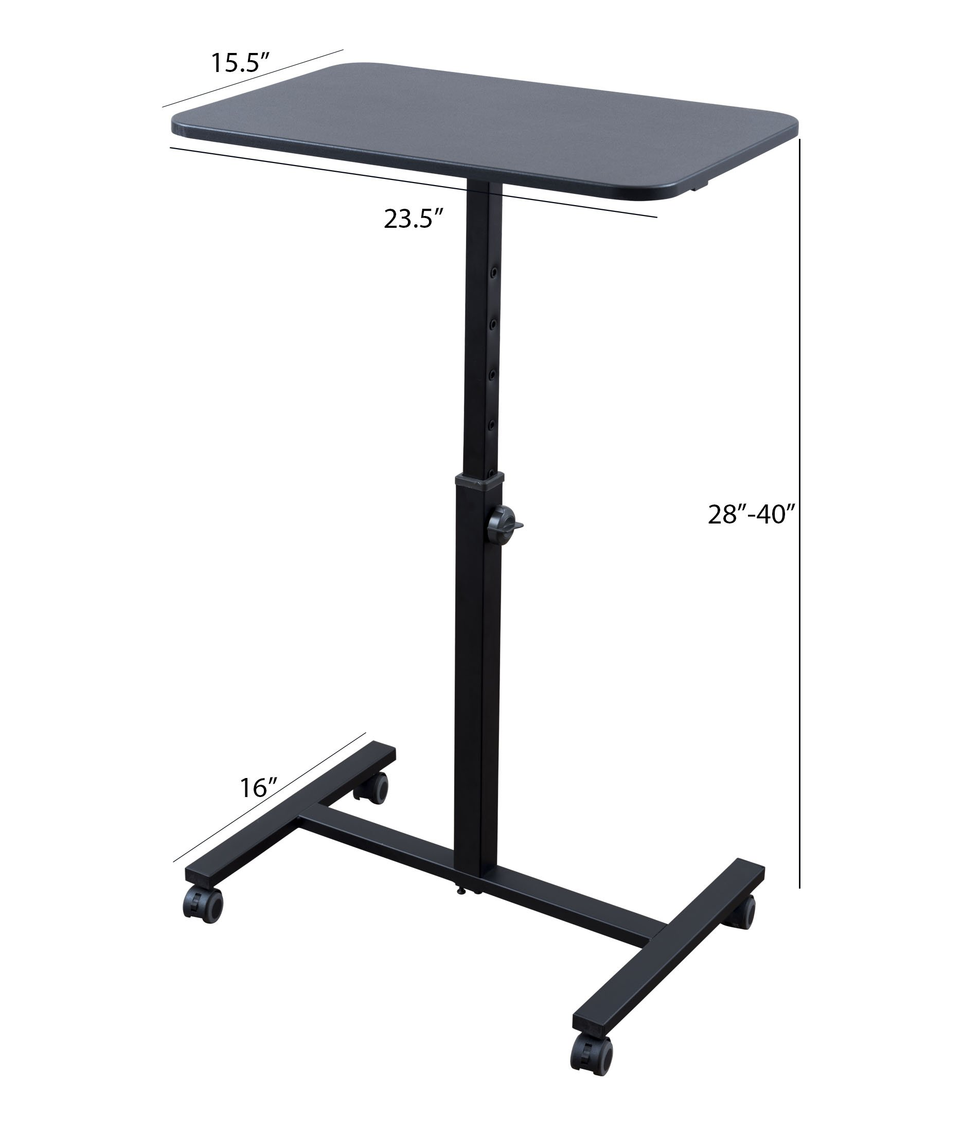 """Single Column Standing Desk 
