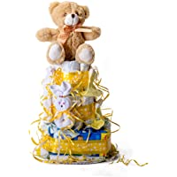Flores AVRIL ofrece: tarta de pañales para bebé.