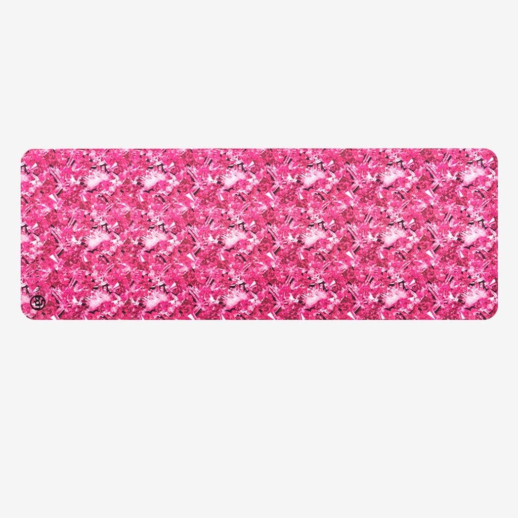 ASJHK ヨガマット5 mm天然ゴム男性と女性のフィットネスマットプロの滑り止めヨガマットスポーツマット ヨガマット (色 : Pink) B07P7T6NCR  Pink