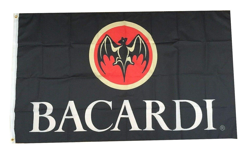 Amazon.com: Flylong Bacardi Bandera de Ron Banner Alcohol ...