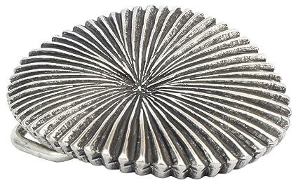 F/ür Wechselg/ürtel bis zu 4cm Breite Buckle Wechselschlie/ße G/ürtelschlie/ße 40mm Massiv Brazil Lederwaren G/ürtelschnalle Piatto 4,0 cm