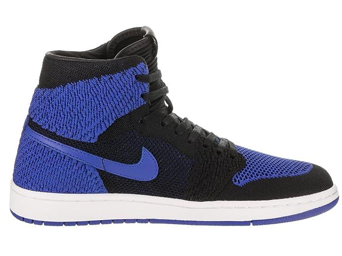 wholesale dealer 8aff8 01647 Nike Men s Air Jordan 1 Retro Hi Flyknit Basketball Shoes  Amazon.co.uk   Shoes   Bags