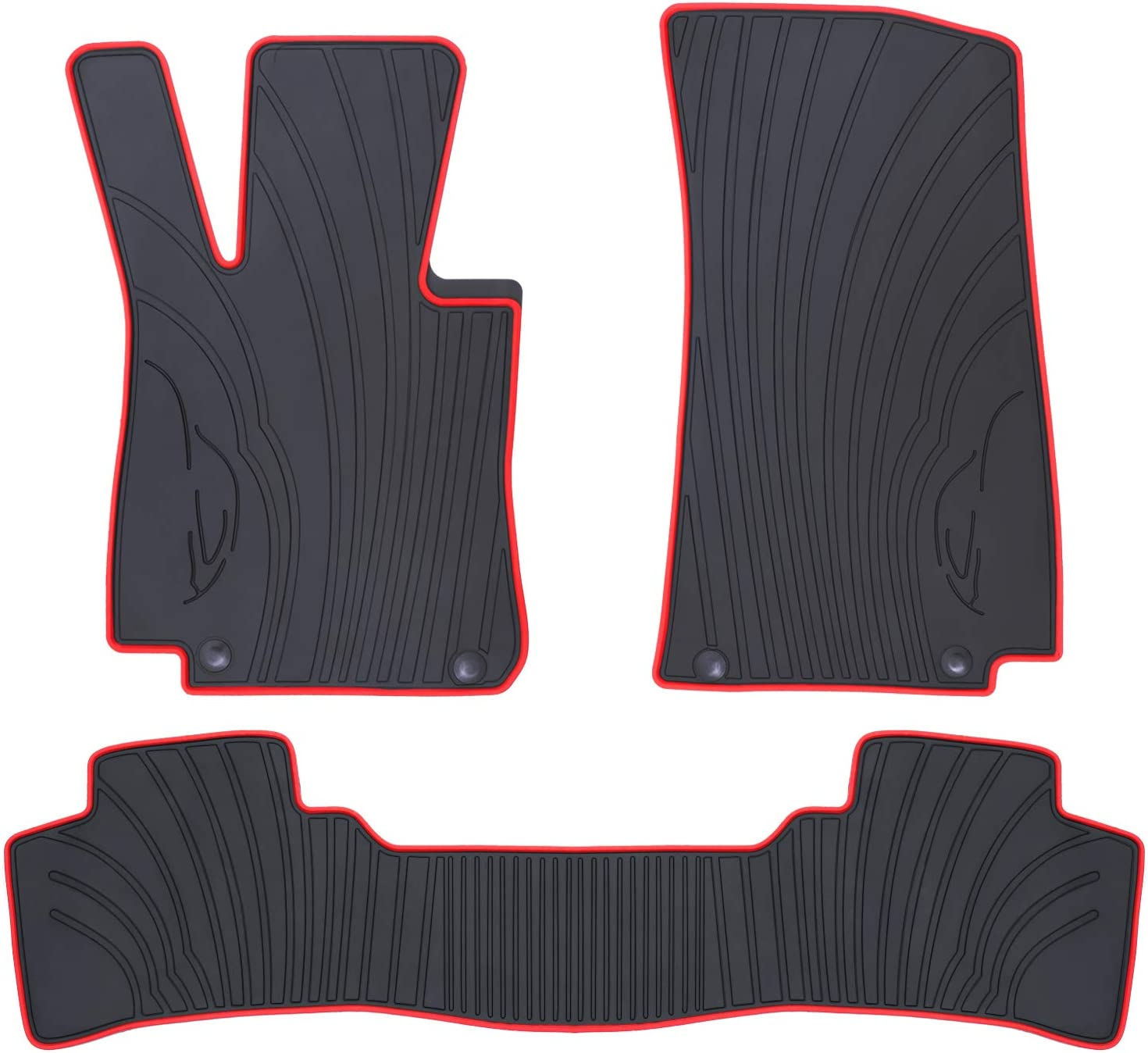 X253 on 2015 Custom fit boot liner mat pet protector for Mercedes GLC Class