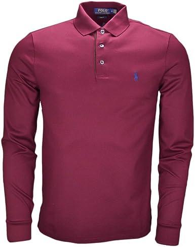 Ralph Lauren - Polo - Blusa - para Hombre Rojo XL: Amazon.es: Ropa y accesorios