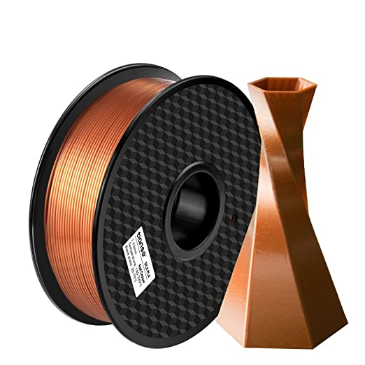 Amazon.com: TIANSE Silk PLA 3D Printer Filament,1.75mm 1kg Spool Filament for 3D Printing, Dimensional Accuracy +/- 0.03 mm, No Plugging (Red Copper): Industrial & Scientific