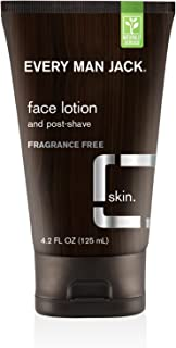 product image for Every Man Jack Face Lotion, Fragrance Free, 4.2 Fluid Ounce