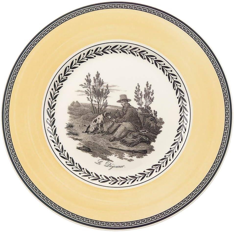22 cm Villeroy /& Boch Audun Chasse Piatto Dessert