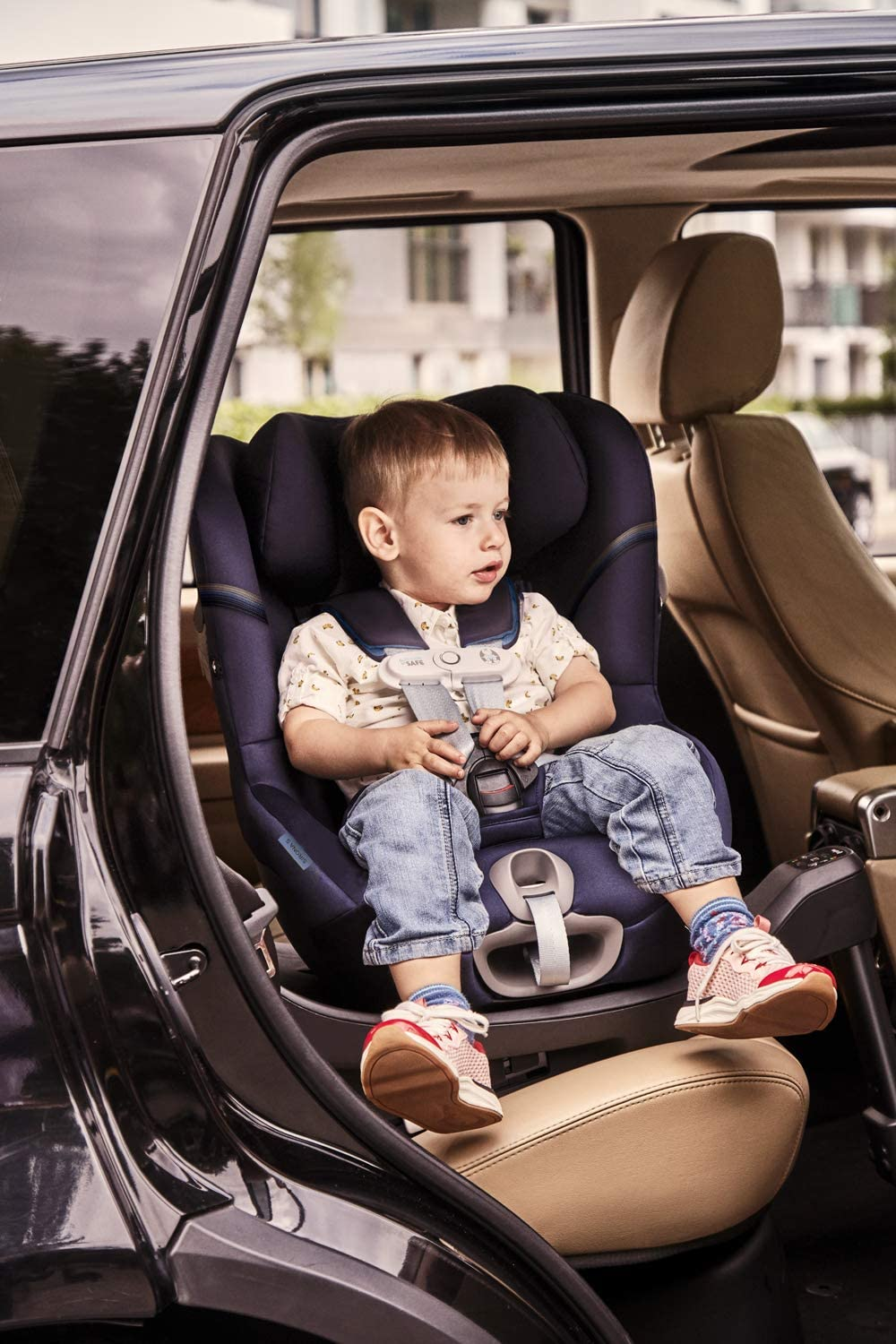 max 18kg 4 years From birth up to approx Group 0+//1 360/° Rotation for easy entry and exit position CYBEX Gold Sirona S i-Size Child/´s Car Seat Navy Blue 45 cm to 105 cm