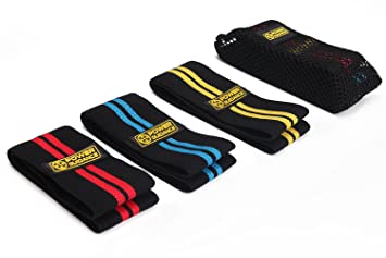 Yoga Guidance Hip Band Resistance Bands Elastic Fitness Equipment For Warmups Squats Mobility Workout Leg Pull Band Modern Design Fitness & Body Building