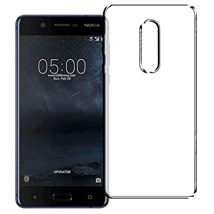 quality design b0ccd 859d6 Amazon.com: Nokia 5 Case, TPU Clear Protective Case Panel for Nokia ...