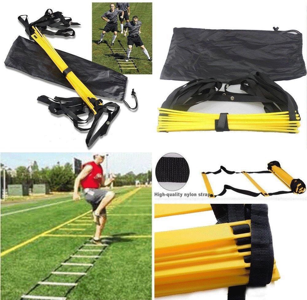 卸し売り購入 8横線Agility B014Z0ADHU Ladder速度フットボールサッカーフィットネスのフィート作業トレーニングバッグ 8横線Agility B014Z0ADHU, 大特価:a23037ac --- newsdarpan.in