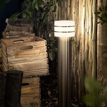 Philips hue LED poste tuar Acero cepillado Incluye Hue White ...