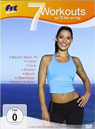 the latest 712ab e5b7c Amazon.com: Fit for Fun - 7 Workouts: nur 15 Minuten am Tag ...
