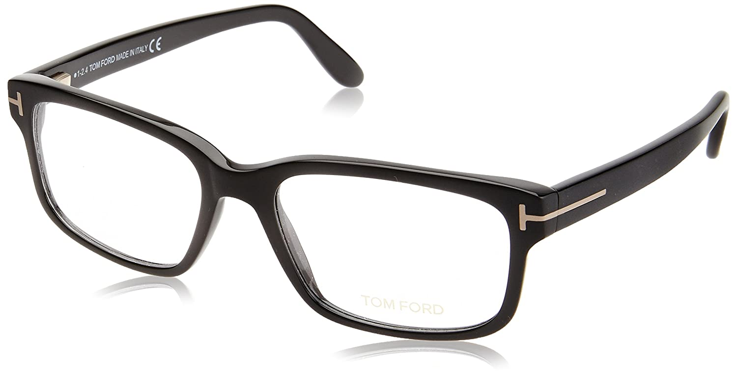 c9545df637 Tom Ford FT5313 Eyeglasses 002 Matte Black Gloss Black Transition Effect  55mm 5313 at Amazon Men s Clothing store
