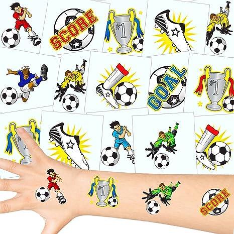 German Trendseller - 12 x Tatuajes temporales fútbol┃ Fiestas ...
