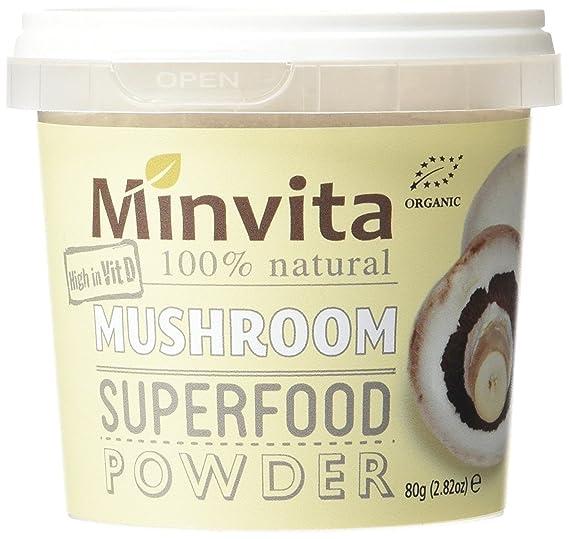 Minvita 100% natural Detox seta Super alimento polvo 80 g