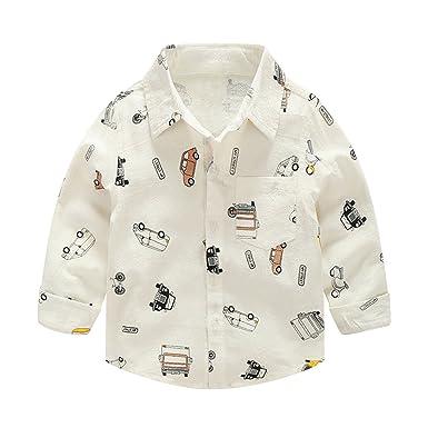 d02598373 Amazon.com  Evelin LEE Infant Toddler Baby Boys Kids Long Sleeve ...