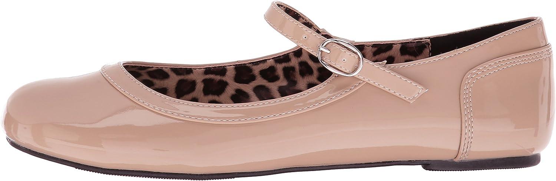 Pleaser Pink Label Womens Anna-02 Ballet Flats