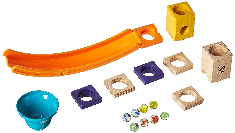 17 Pieces E6023 Hape Quadrilla Mega Skatepark Marble Run Attachment
