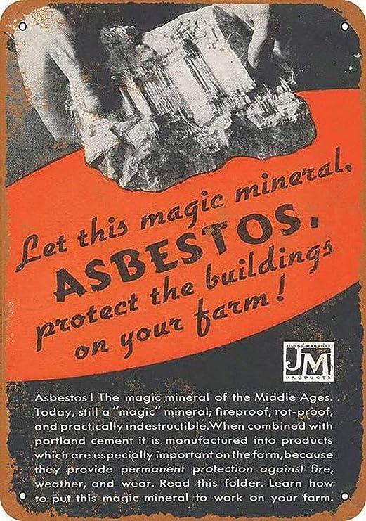 HiSign Magic Mineral Asbestos Retro Cartel de Chapa Coffee ...