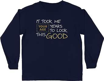 lepni.me Camiseta para Niño/Niña Se necesitaron años de Costumbre para lucir Estos Buenos Trajes de Regalo