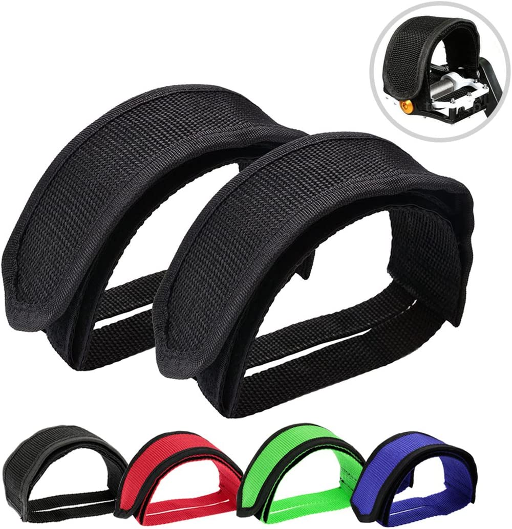 Durable Cycling Mountain Bike Bicycle MTB Pedal Toe Clip Strap Belts Tools Sight