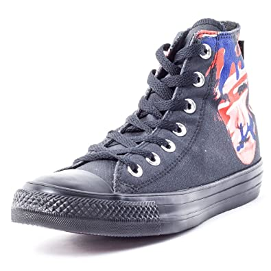 5447afaeca97 Converse Unisex Chuck Taylor All Star Andy Warhol Hi Black Red Blue (149486C