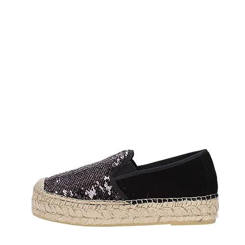 Vidorreta - Alpargatas para Mujer Negro Size: 36: Amazon.es: Zapatos y complementos