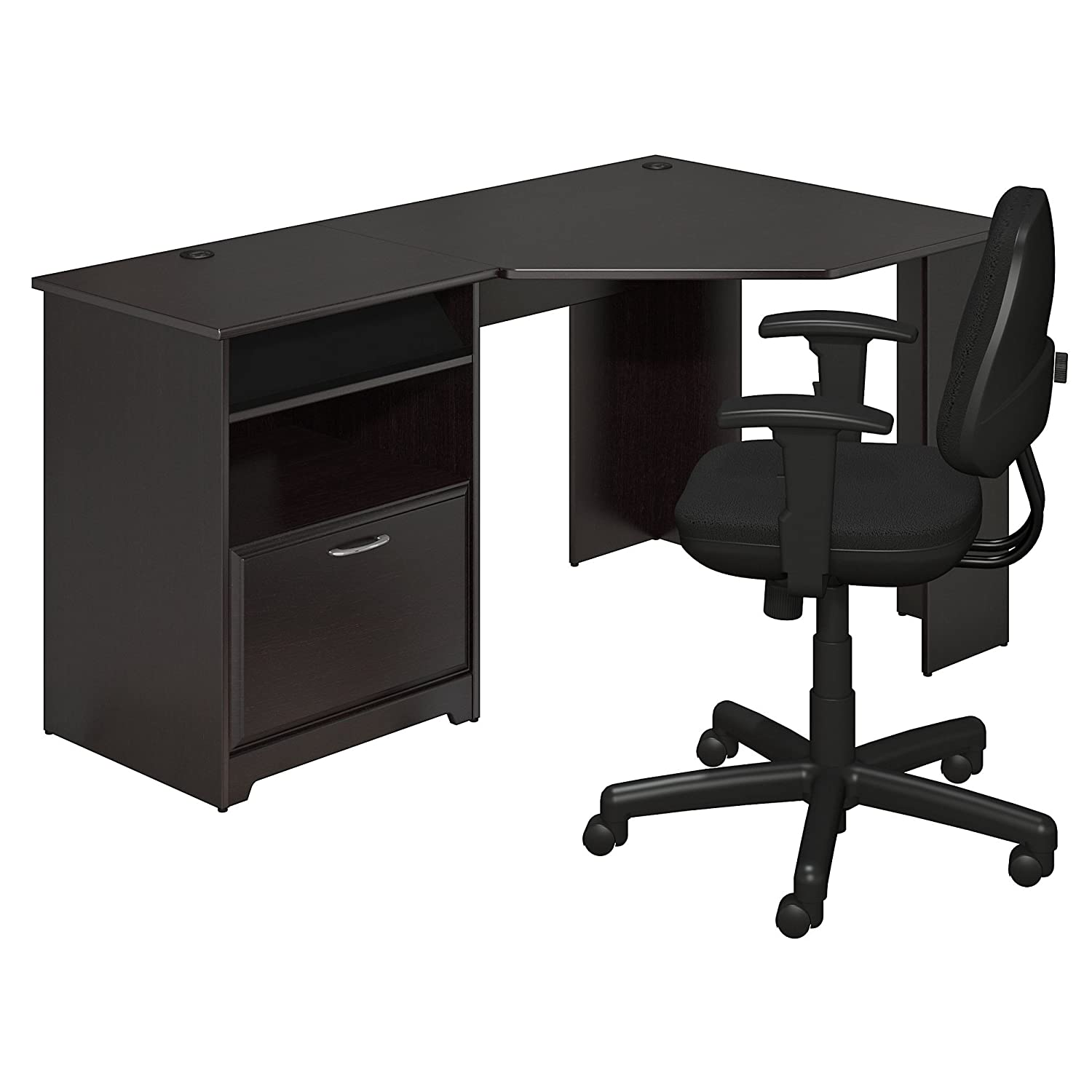 Cabot Corner Desk And Office Chair