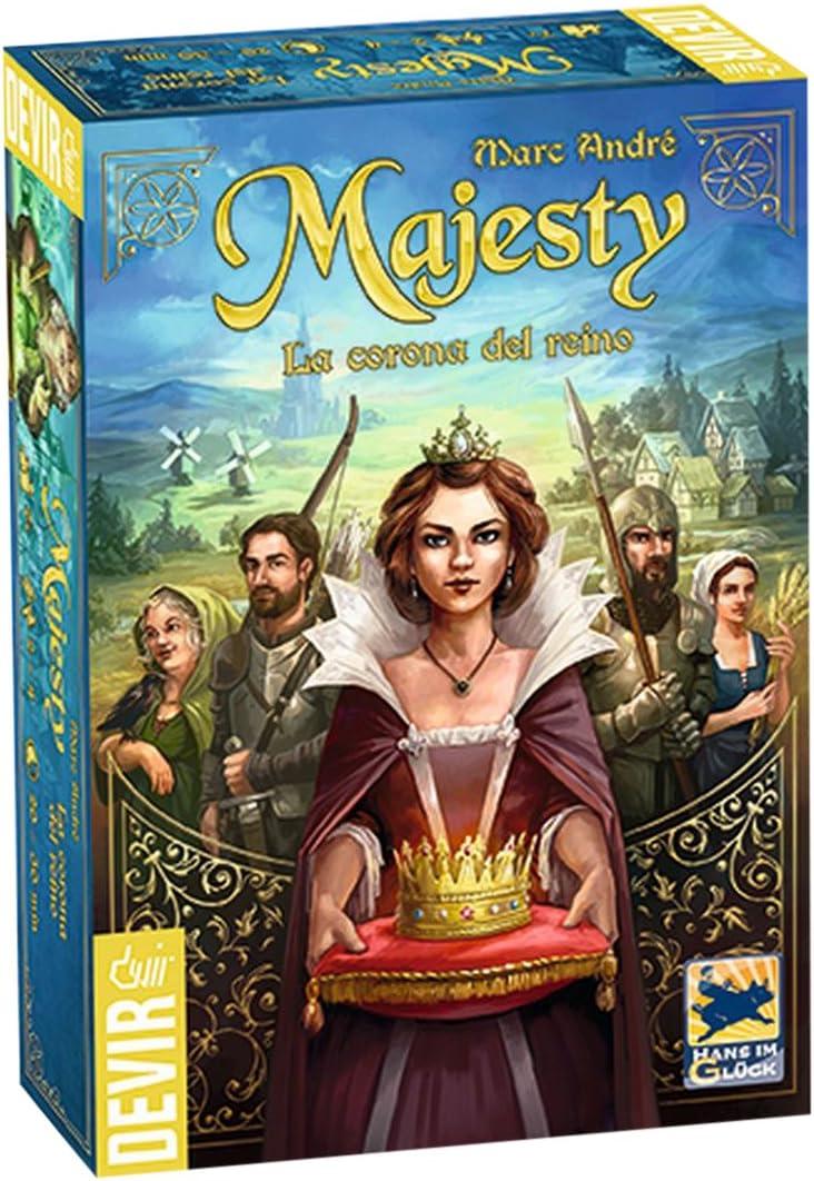 Devir- Majesty, la Corona del Reino, única (BGMAJ): Amazon.es ...