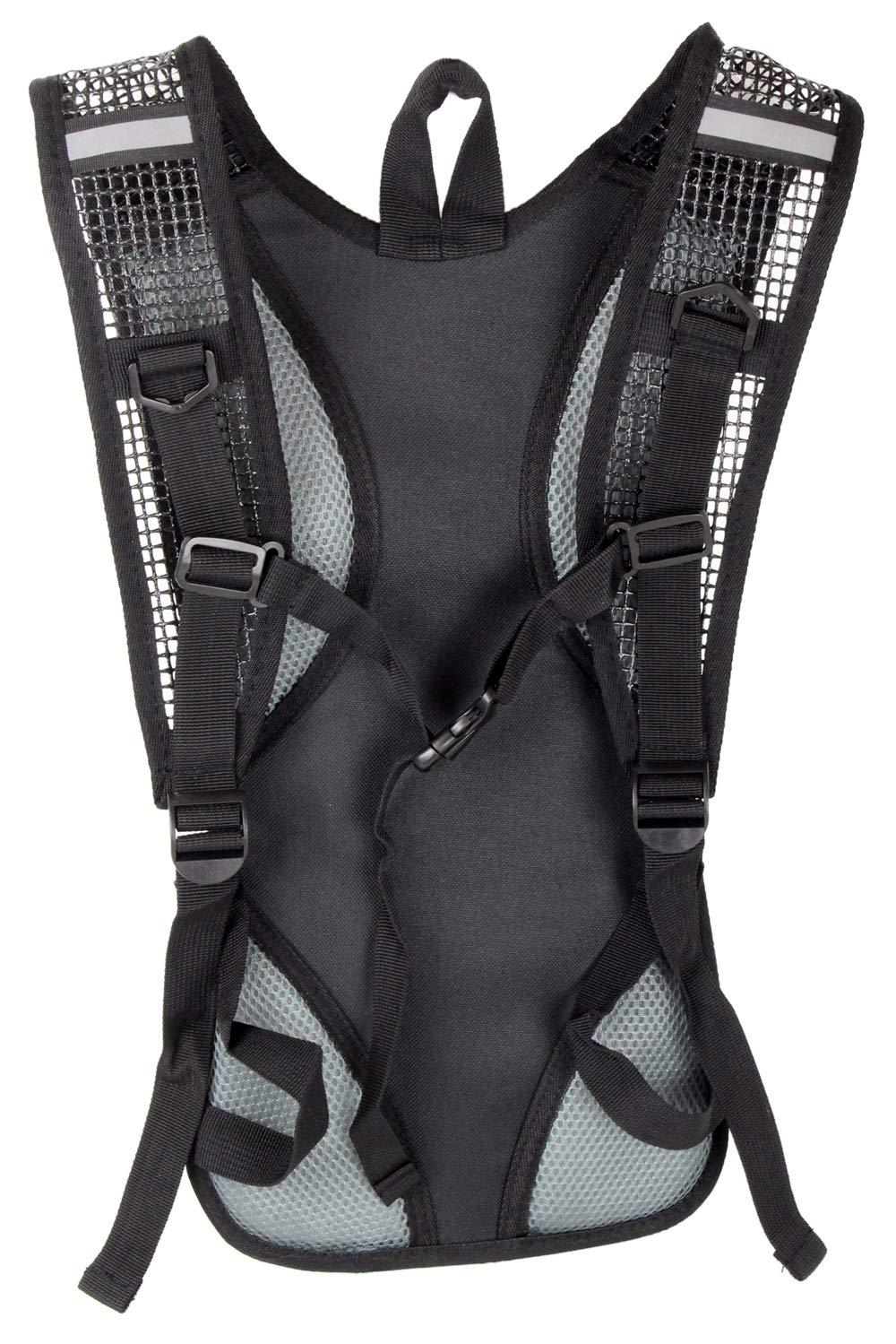 Acolchada ergon/ómica Impermeable para Exteriores Bag-Street Mochila de Ciclismo Muy Ligera