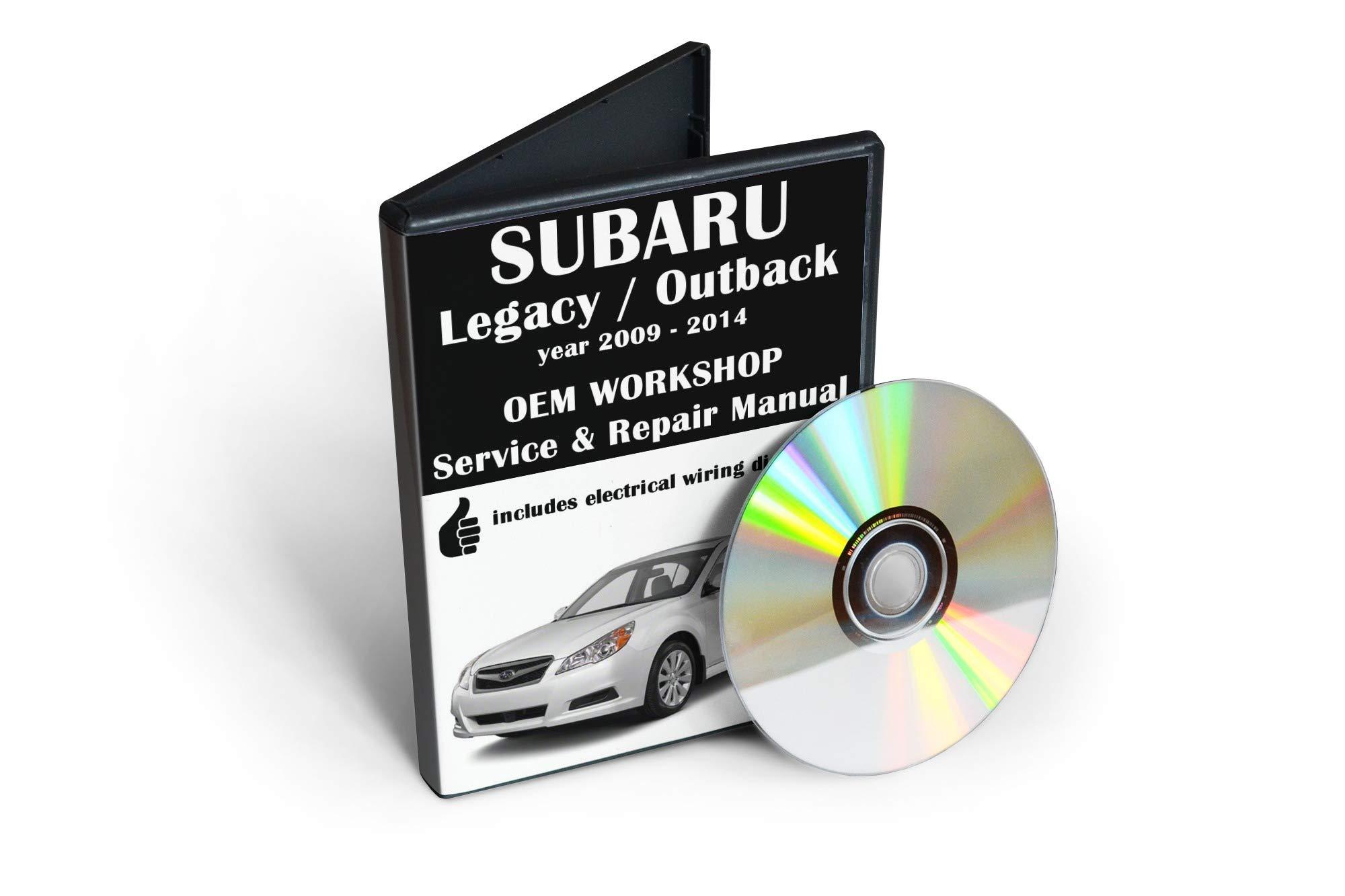 *WORKSHOP MANUAL SERVICE /& REPAIR GUIDE for SUBARU LEGACY 2009-2014 WIRING