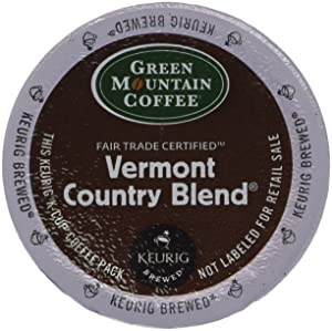 Green Mountain Coffee, Vermont Country Blend, Single-Serve Keurig K-Cup Pods, Medium Roast, 48 Count (2 Boxes of 24 Pods