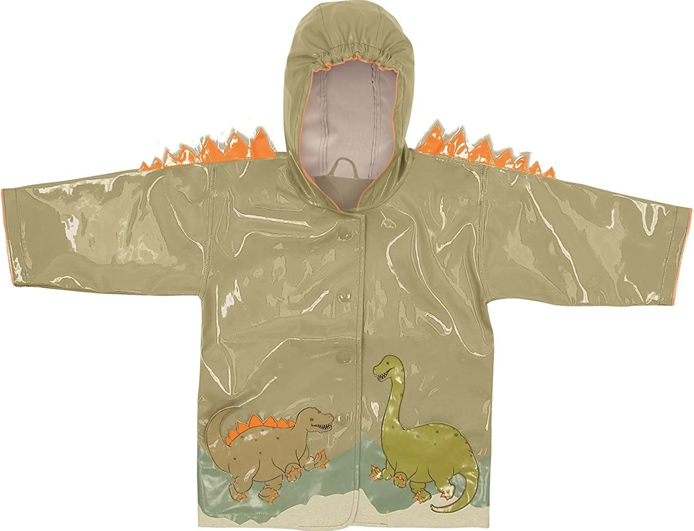 Kidorable Kids Dinosaur Raincoat (Extra Small (70-76cm 12-18 months))