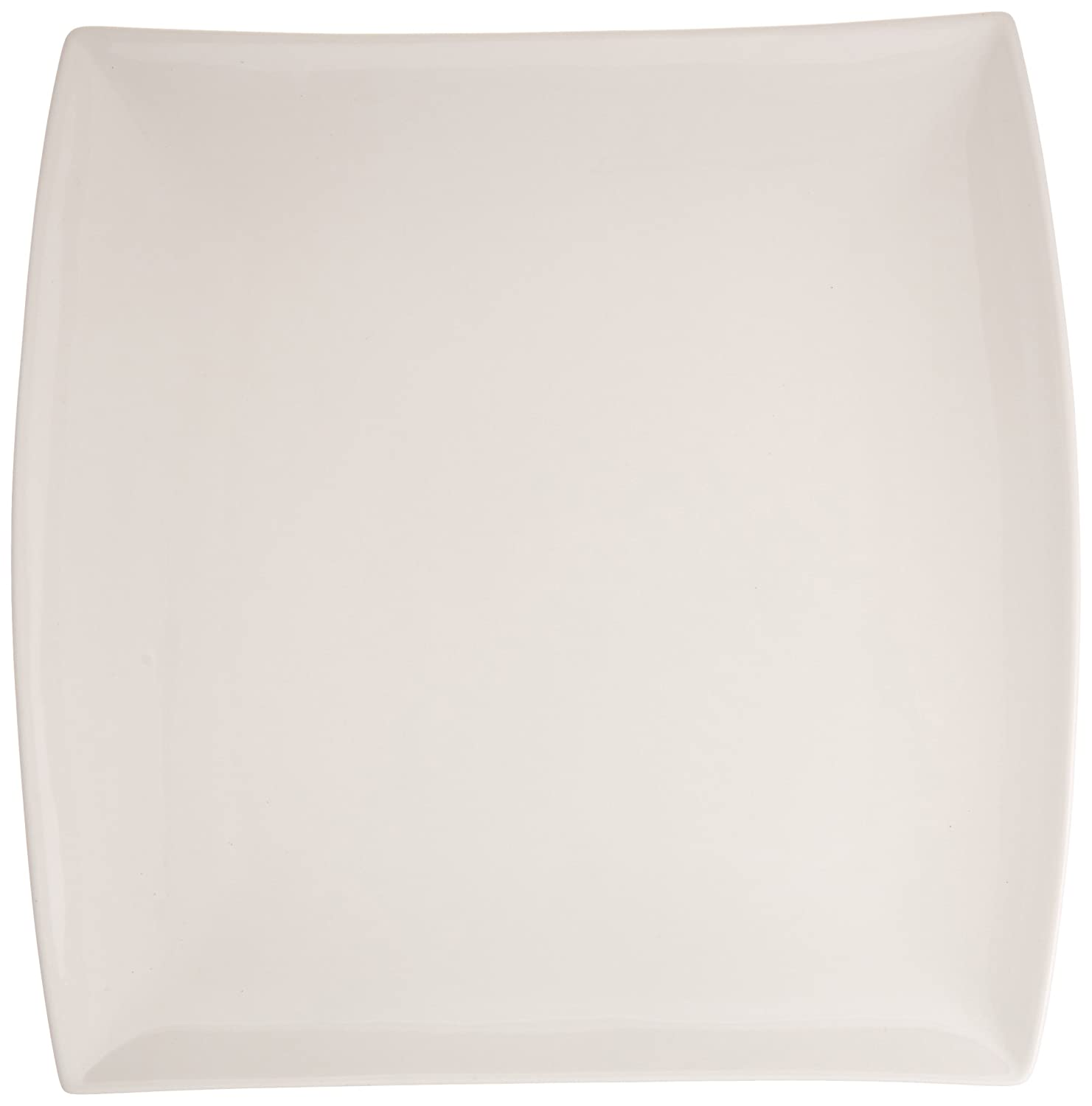 12-Inch White Maxwell and Williams Basics East Meets West Square Platter
