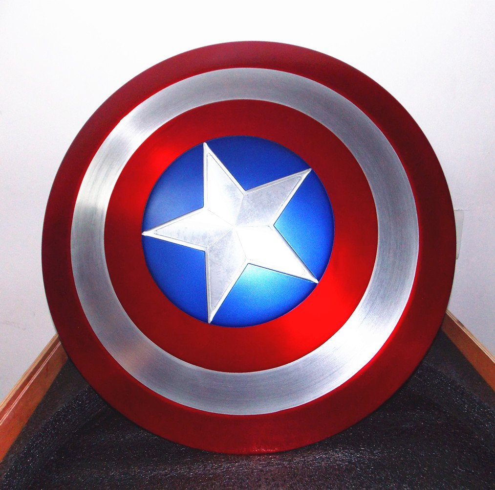 Gmasking Aluminum America Men's Cosplay Adult Shield 1:1 Replica Props+Adjustable Strap by Gmasking (Image #7)