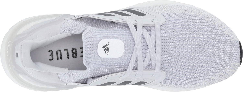 adidas - Scarpe da corsa da donna Ultraboost 20 Grigio Scuro Grigio Rosso Solare