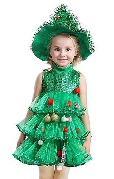 Amazon.com: La vogue Little Girls Disfraz Lil Xmas Árbol de ...