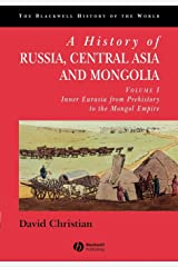 A History of Russia, Central Asia, and Mongolia: Inner Eurasia from Prehistory to the Mongol Empire: 1 Capa comum