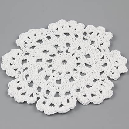 Amazon Tcc Handmade Crochet Lace Doily 100 Cotton Crochet