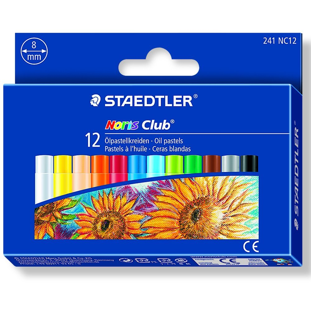 STAEDTLER 241 NC12 - Pack de 12 ceras 241 NC12 ST