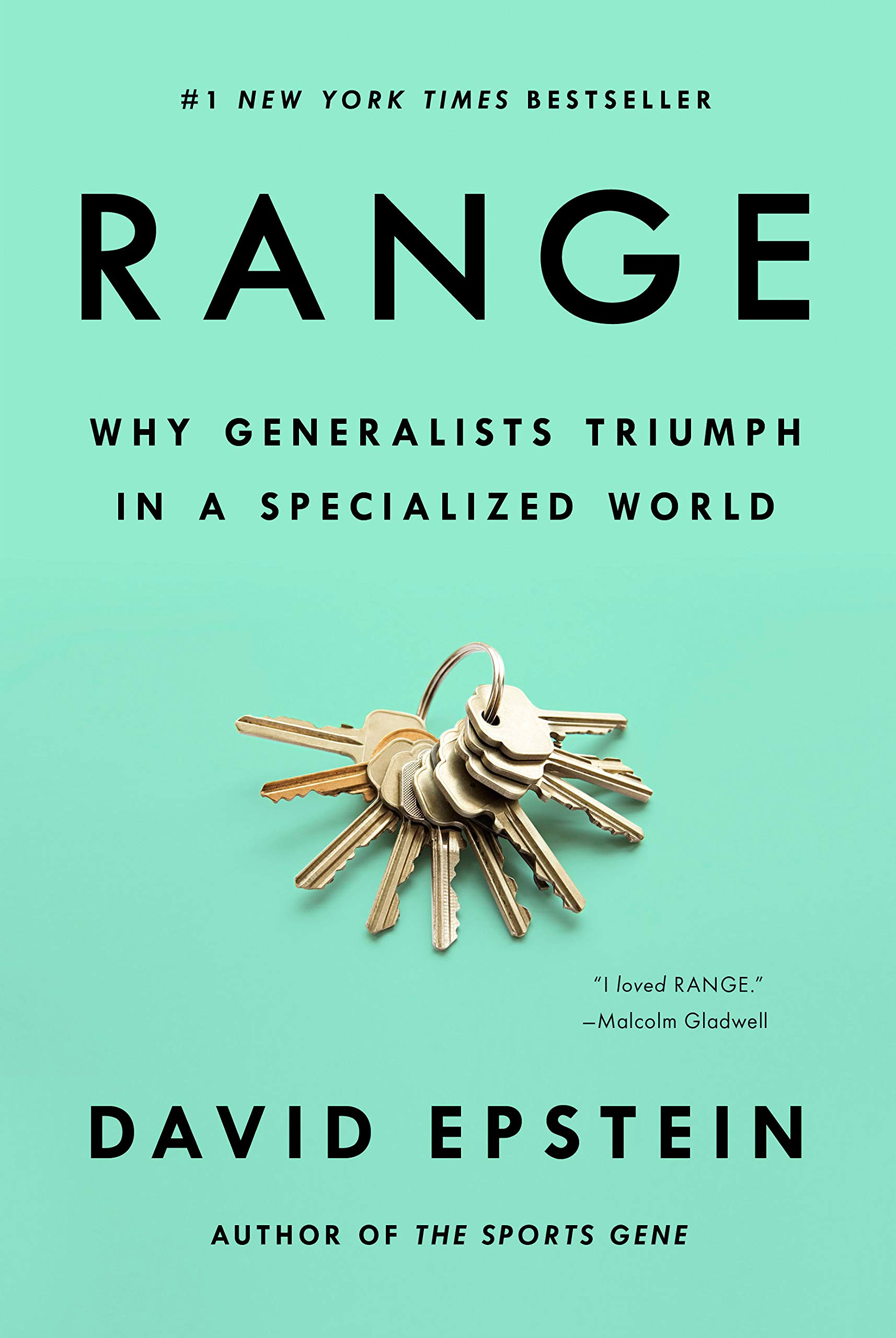 Range: Why Generalists Triumph in a Specialized World book cover