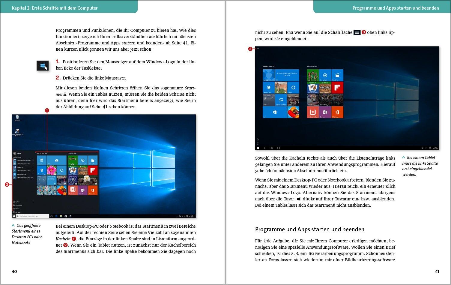 Computer Der Verständliche Einstieg Für Pc Notebook Und Tablet
