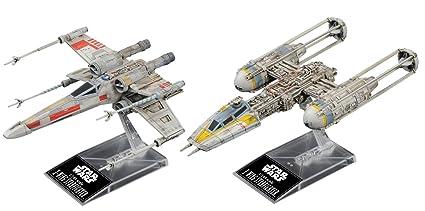 Amazon Com Bandai Hobby Star Wars 1 144 Plastic Model X Wing Y