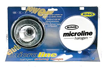 White Covers Ring Automotive BRL0562C Microline Round Drive with Fitting Kit