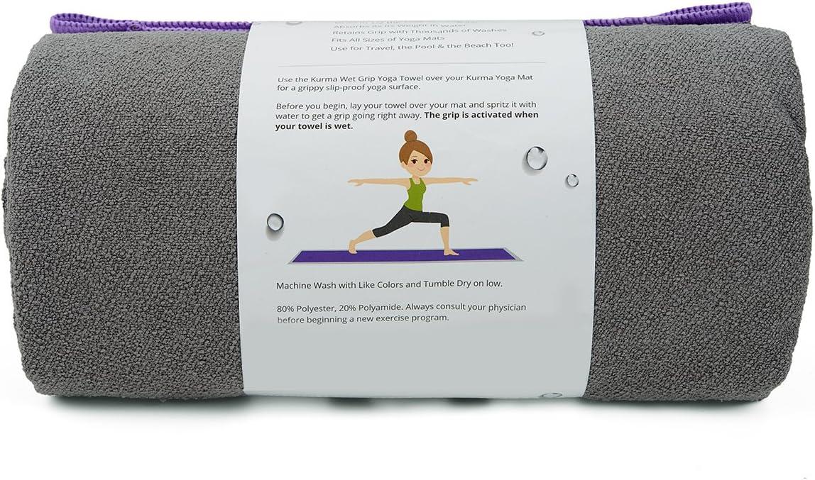 Amazon.com: Large Toalla para Yoga Mat, Wet Grip de tamaño ...