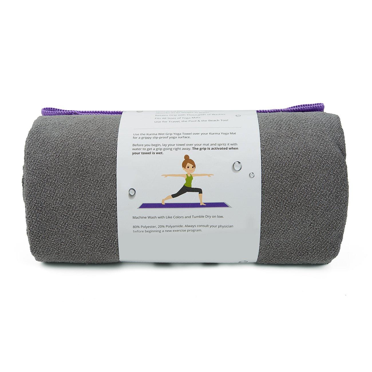 Amazon.com : Yoga Towel for Yoga Mat Extra Long 72 Long x 24 ...