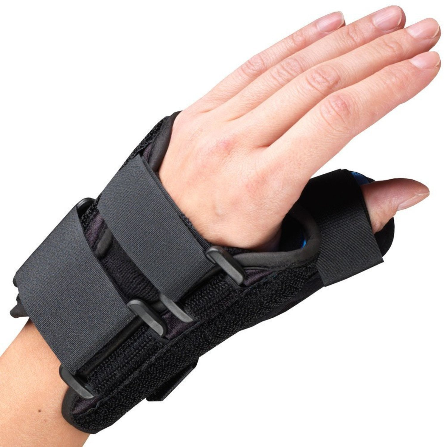 High Quality Wrist-Thumb Splint, 6-Inch Petite or Youth Size, Lightweight Breathable, Small (Left Hand) B07C2HZ4PB