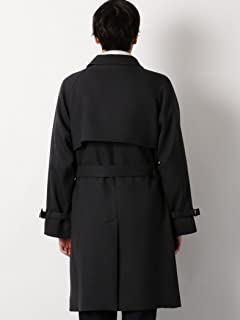 Bulky Twill Bal Collar Coat 3225-199-2547: Dark Grey