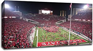 The Ohio State - College Football - 40x22 Gallery Wrapped Canvas Wall Art